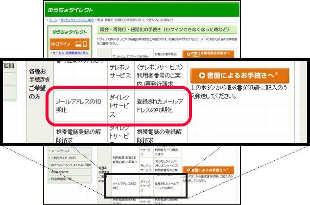 ゆうちょ銀行初期化14
